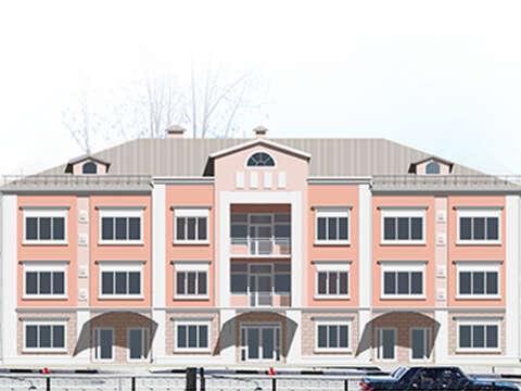 Жилой дом на ул. Советская